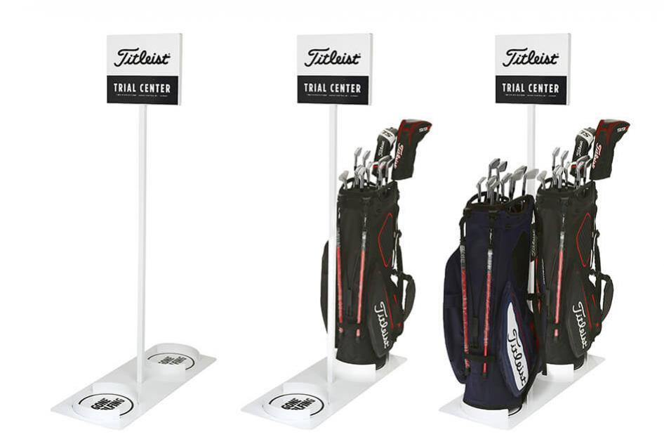Acushnet Titleist Trial Bag Display